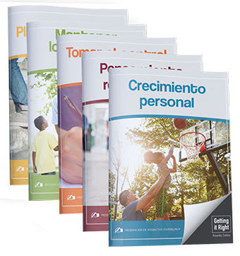 Complete Set of Getting it Right Journals (Spanish)