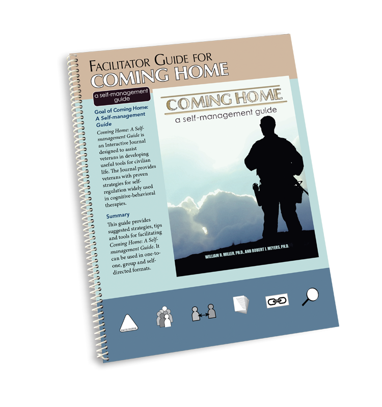 Facilitator Guide for Coming Home: A Self-management Guide