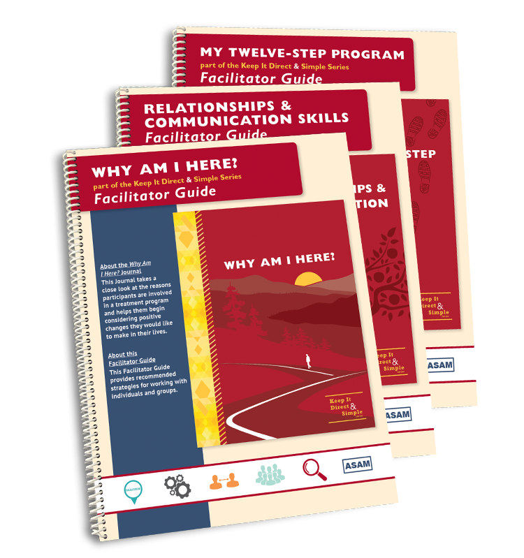 The Complete Set of Keep It Direct & Simple Series Facilitator Guides