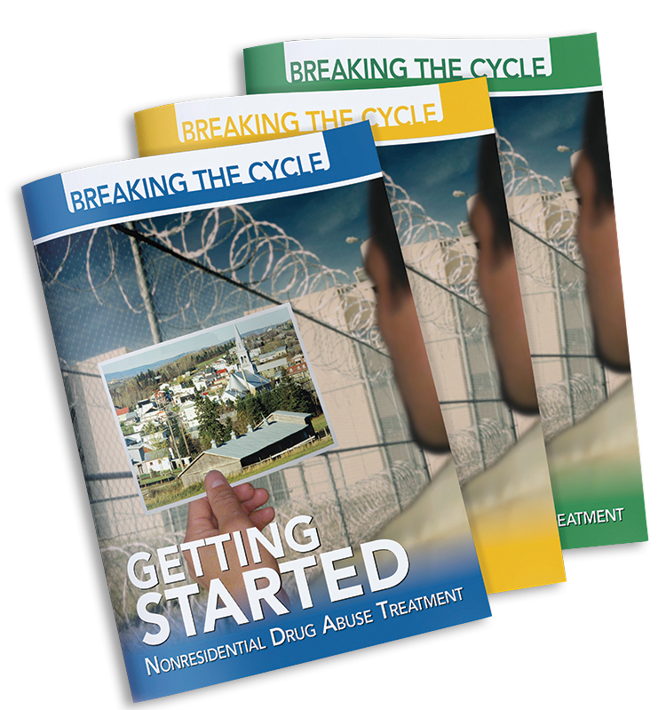 Set of Breaking The Cycle Interactive Journals