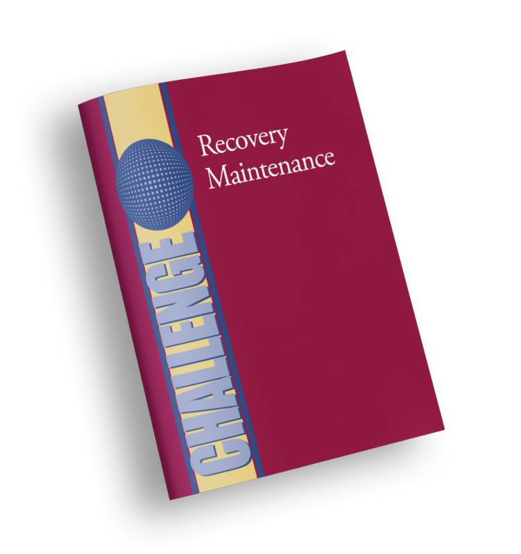 Recovery Maintenance - CHALLENGE