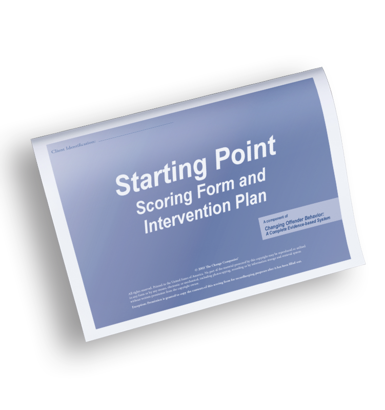 Starting Point Scoring Form
