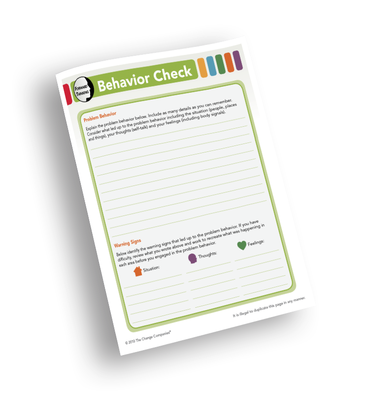 Behavior Check Pad