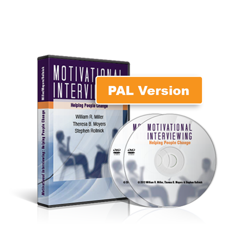 Motivational Interviewing: Helping People Change (2-DVD Set) PAL Version