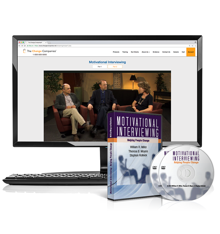 Motivational Interviewing: Helping People Change (DVD/Streaming Bundle)