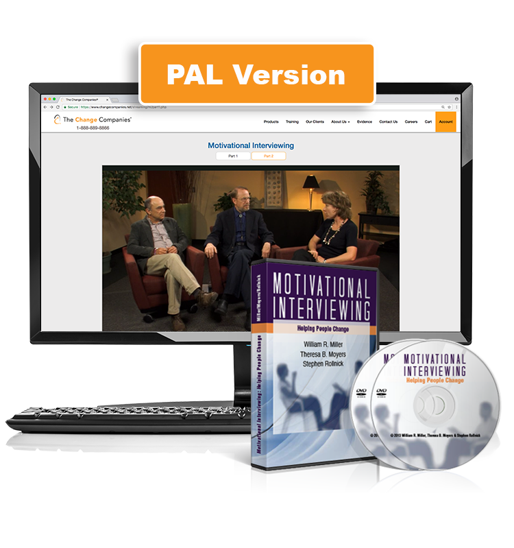 Motivational Interviewing: Helping People Change (DVD/Streaming Bundle) PAL Version