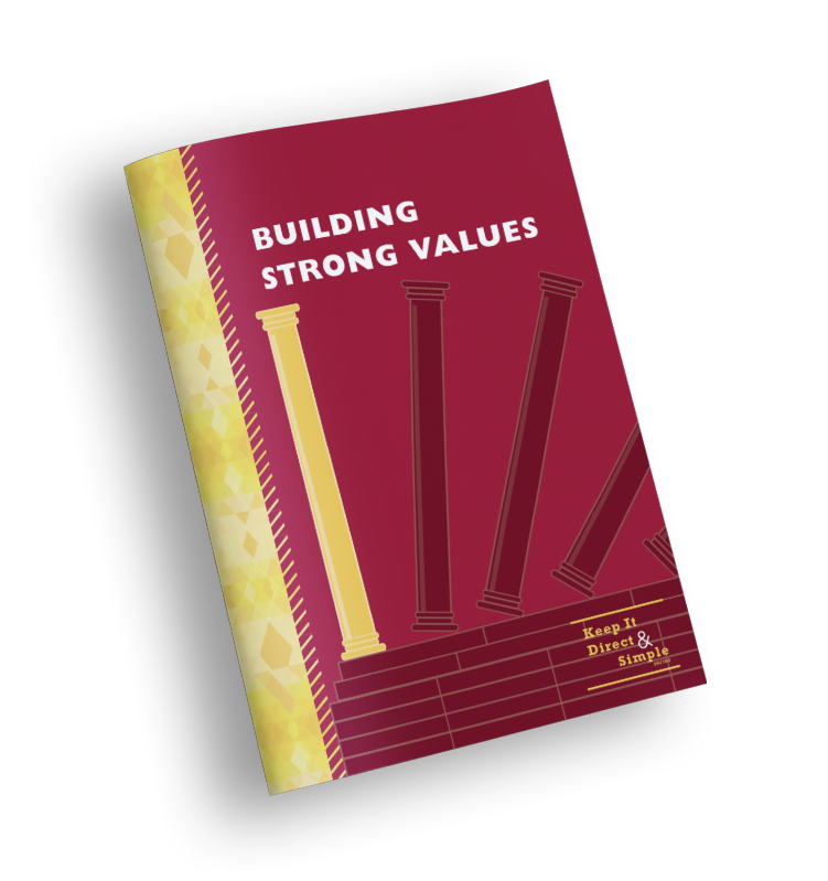 Building Strong Values