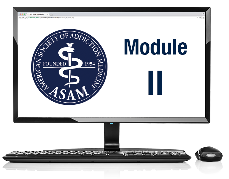 ASAM Module 2 - From Assessment to Service Planning and Level of Care (Flash not required) image